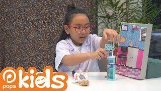 Đồ chơi trẻ em - Búp Bê Barbie Làm Nha Sĩ - Thế giới cúp bế tập 6