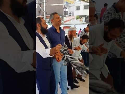 İslami düğün İzmir Arz Dini Organizasyon-Murat Belet ve Enes Çiftçi kadın erkek ayrı sofi düğünü