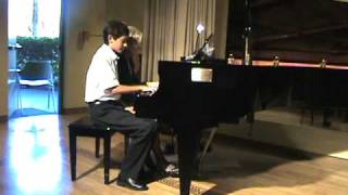 Grandmother and Grandson Dizzy Fingers Piano Duet