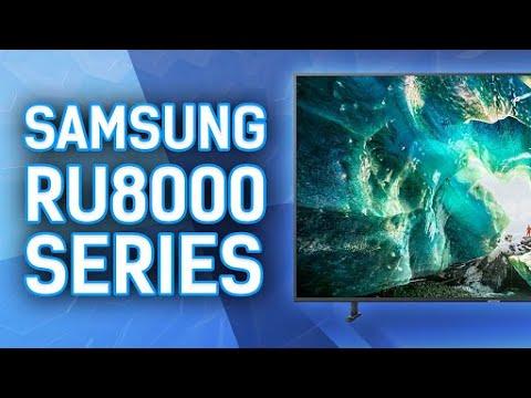 Reviewing The Samsung RU8000 Series 4k TV - UN65RU8000