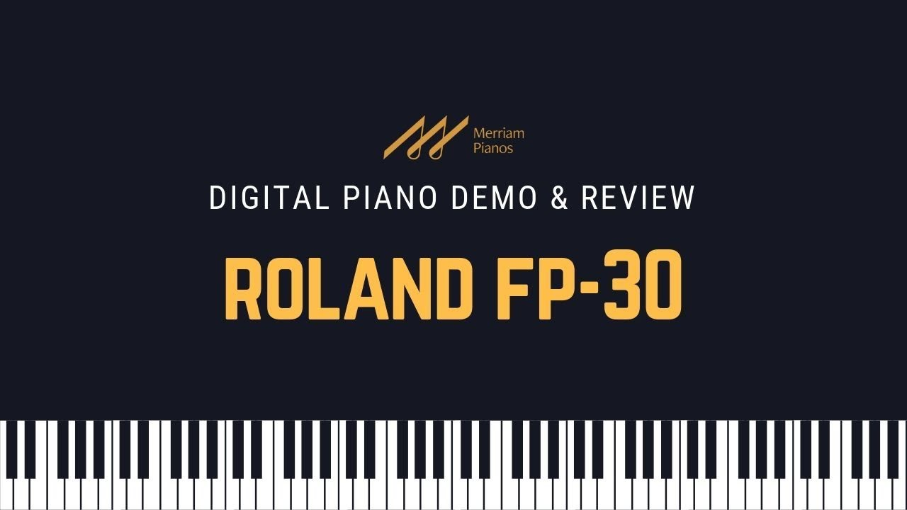 Roland Fp 10 Digital Piano Demo Review The Best Digital Piano For Under 750 On The Market Youtube