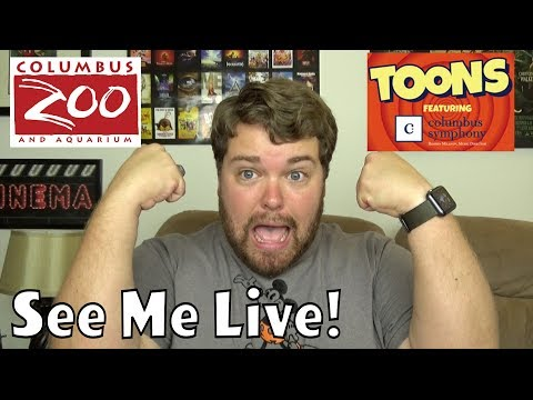 Come See Me Live! - Columbus Zoo Ohio Cartoon Weekend