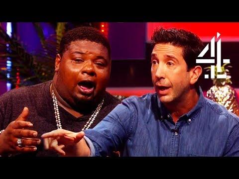 Big Narstie boys Over David Schwimmer Ross From Friends!!  The Big Narstie