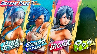 Samurai Showdown – Official Season Pass 2: DLC Characters Gameplay Reveal Trailer