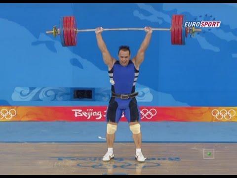 Олимпийские игры 2008. мужчины в.к. до 94 кг. толчок