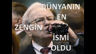 WARREN BUFFET KİMDİR ? KENDİ SERVETİNİ SIFIRDAN YARATAN WARREN EDWARD BUFFET