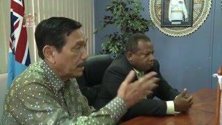Fijian Minister Hon. Inia Seruiratu met with Indonesian Minister H.E. Luhut B. Pandjaitan