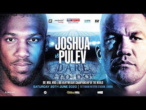 ANTHONY JOSHUA VS KUBRAT PULEV - JUNE 20TH, LONDON!!!