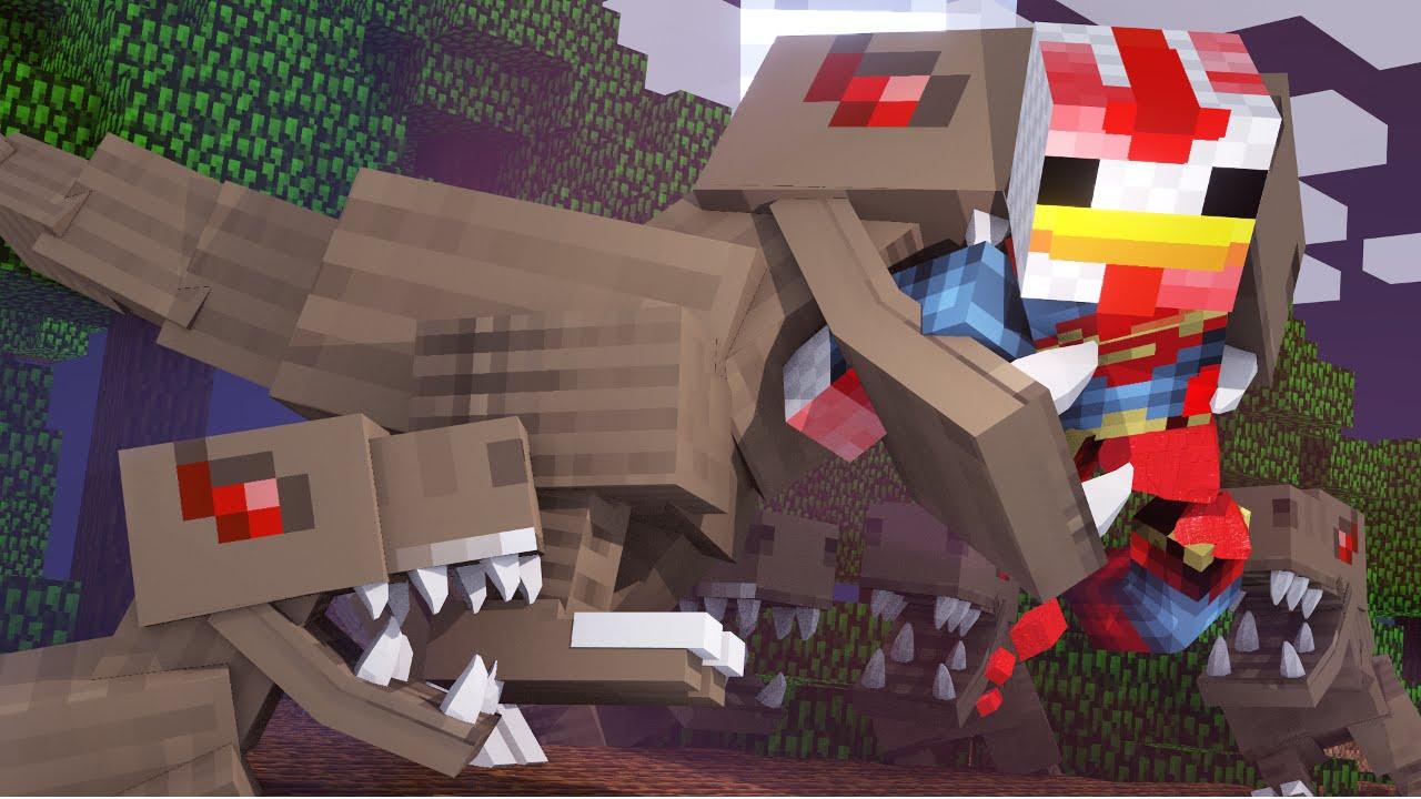 Minecraft dinosaurs jurassic craft modded survival ep 66 for The atlantic craft minecraft