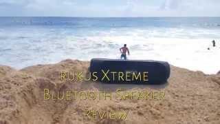 rukus Xtreme Solar Powered Bluetooth Speaker Review