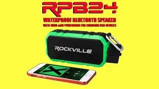 DROP & WATER Test Rockville RPB24 Bluetooth Speaker (Demo)