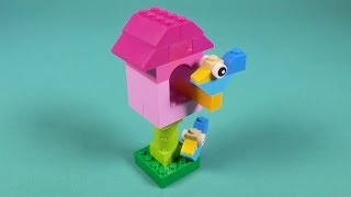 "Lego Birdhouse Building Instructions - Lego Classic 10694 ""how To"""