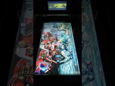 Arcade1up Star Wars Pinball Masters of the Force Gameplay from Kevin F