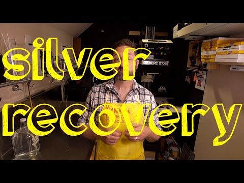 Using Silver Recovery In Your Darkroom