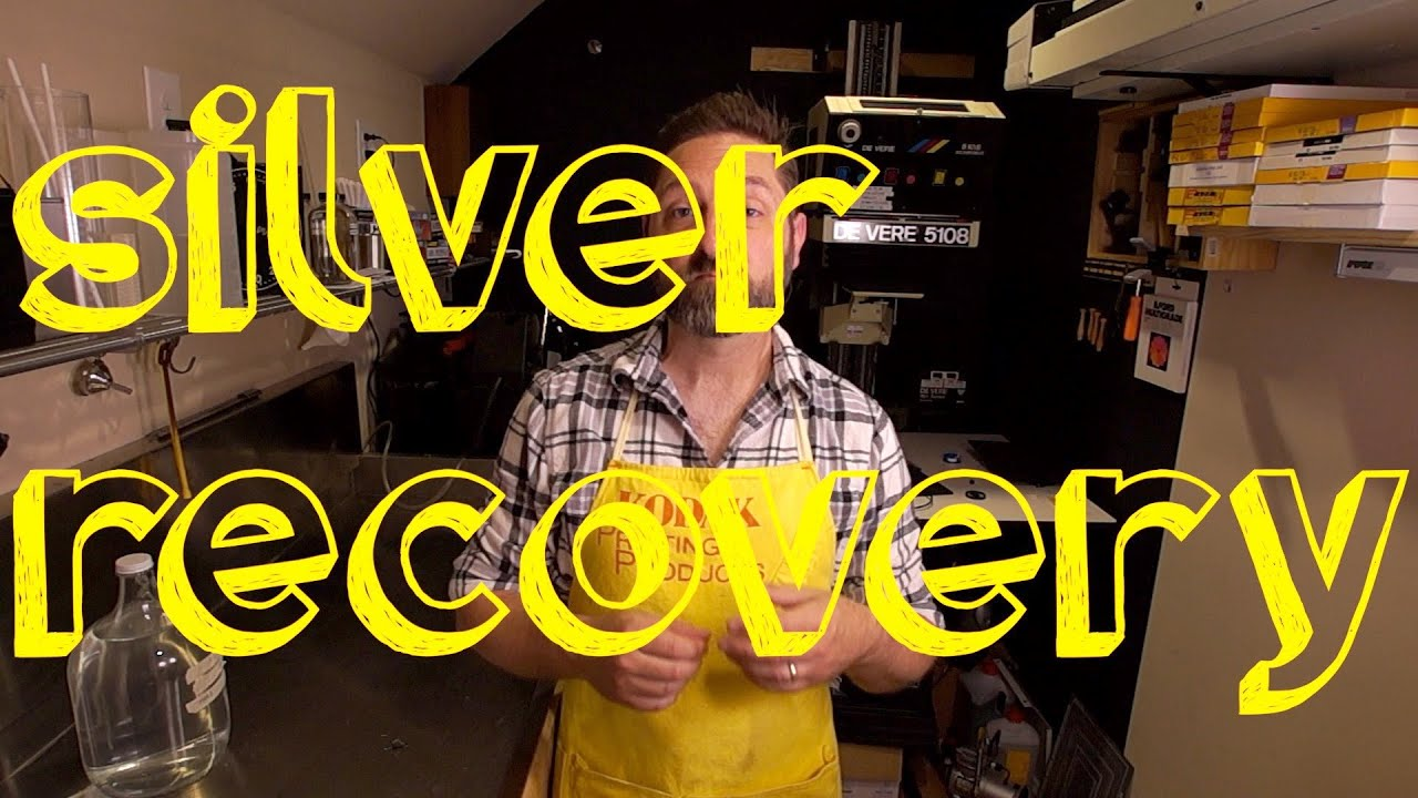 Using Silver Recovery In Your Darkroom - YouTube