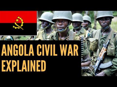 A Brief Explanation of Angola's Civil War | African Biographics
