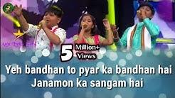 Yeh Bandhan To Pyar Ka Bandhan Hai(Lyrics) Prity,Mauli&Harshit's Performance along with Alka Yagnik
