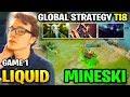 LIQUID vs MINESKI TI8 - GLOBAL STRAT - THE INTERNATIONAL 2018 Game 1