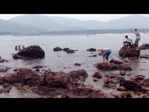 Lovers Island (情人岛) of Xichong (西冲) in Nanao, Shenzhen, China