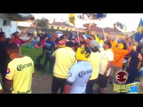 Club América y se Barra Brava La Monumental