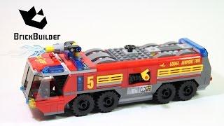 Kijk LEGO City 60061 Luchthaven brandweerwagen filmpje