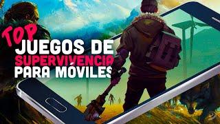 6 JUEGOS de SUPERVIVENCIA GRATUITOS para jugar en MÓVIL. Horas de EXPLORACIÓN en iOS y ANDROID