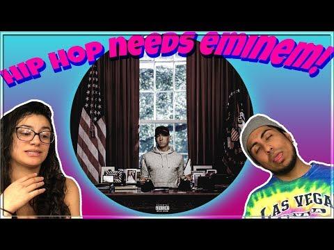 Eminem - Campaign Speech (Lyrics) REACTION