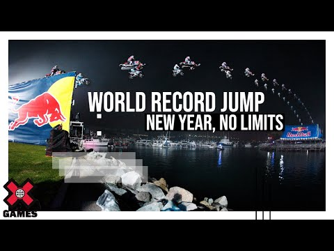 New Year No Limits: World Record Jump (Slow Motion) - ESPN X Games