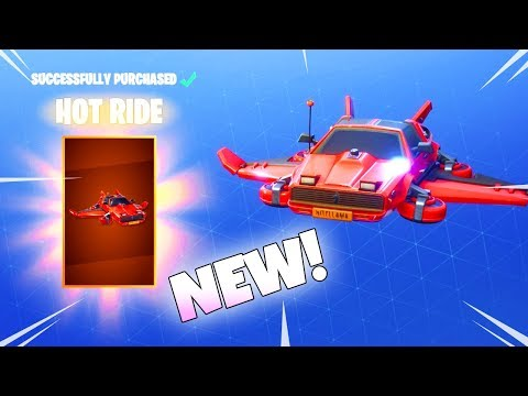 A NEW LEGENDARY GLIDER has arrive! HOT RIDE! (New item shop) Fortnite Battle Royale thumbnail