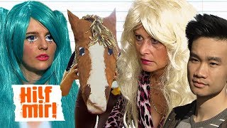 Ich wäre gerne...Kay-One, Carmen Geiss, eine Mangafigur oder ein Pferd? | Hilf Mir!