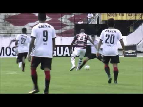 Santa Cruz 4 X 1 Vitória - Melhores Momentos - Brasileirão 2016 - 1ª rodada
