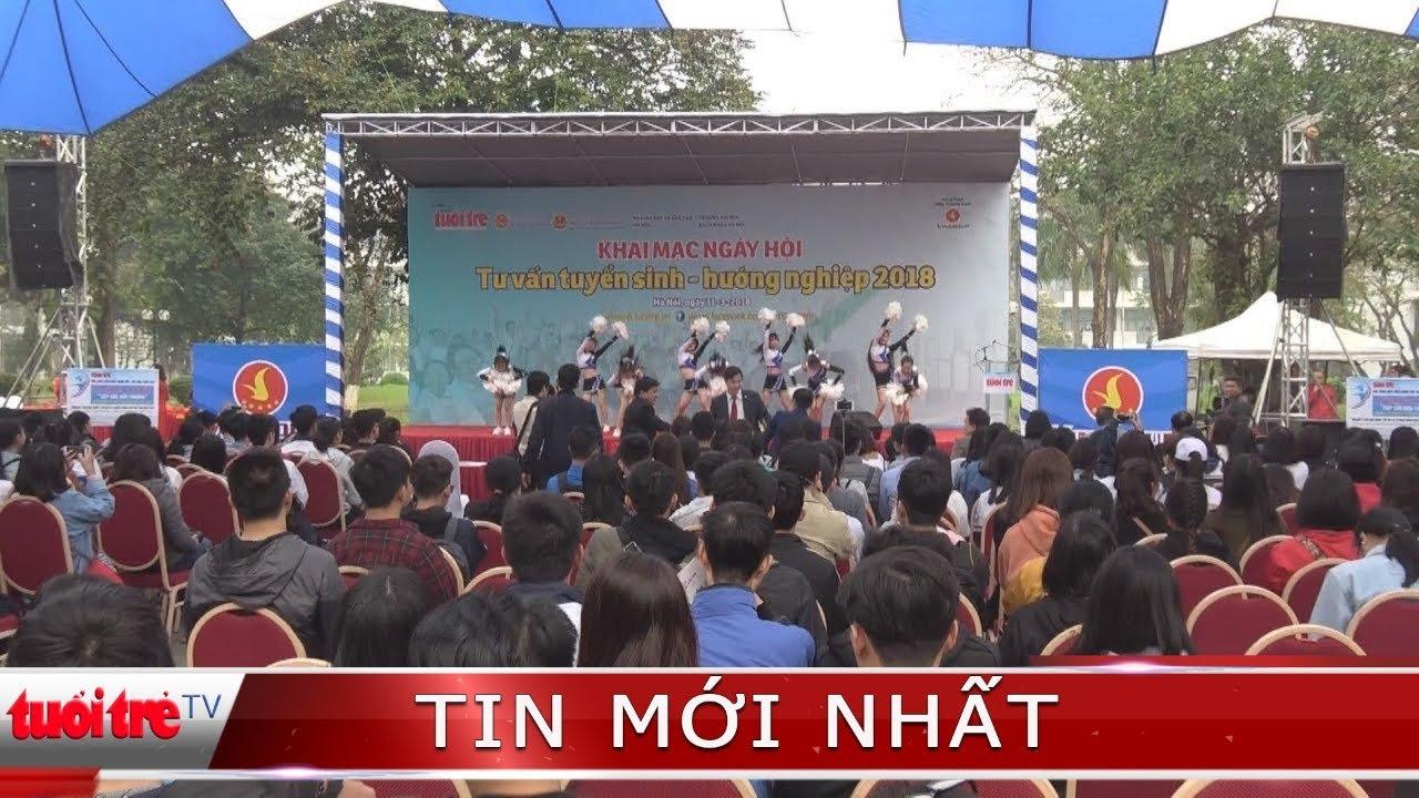 Hàng chục ngàn thí sinh ở Hà Nội và các tỉnh phía Bắc tham gia Ngày hội tư vấn tuyển sinh 2018
