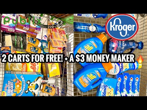 Come Shop For Free with Me | $120 in Products for FREE + a Money Maker! | Kroger & Publix | Vlogmas