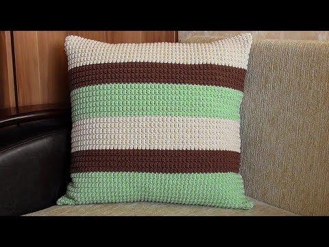 Наволочки на подушку крючком