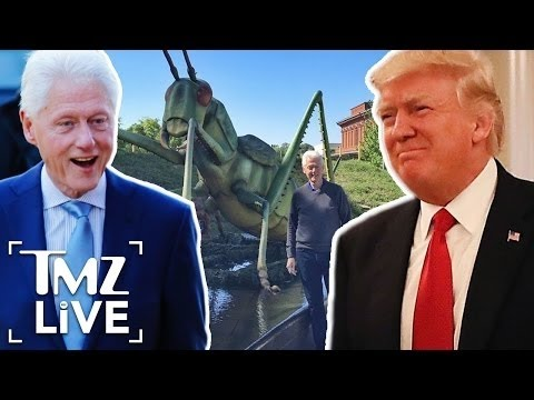 Bill Clinton Takes a Shot At President Trump | TMZ Live