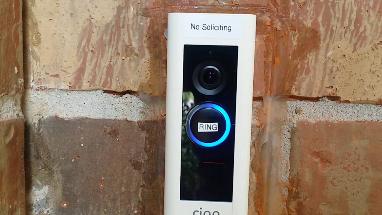 How the Ring Video Doorbell Pro works- Demonstration