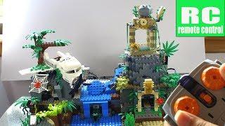 Lego City Jungle 60161 / 60159 / 60157 + Full Power Function RC Motorized MOC