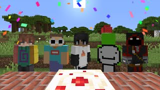 Sapnap's Minecraft Birthday Celebration