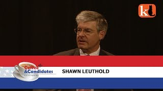 COFFEE&CANDIDATES  /  SHAWN LEUTHOLD