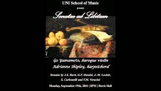 Leclair   Sonata in f# minor, Op  9 No  10   II   Allemanda   Allegro ma non troppo