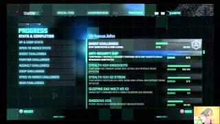 Splinter Cell: Blacklist | Online Menu and Shadownet