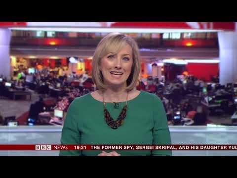 Martine Croxall BBC News Channel HD April 1st 2018