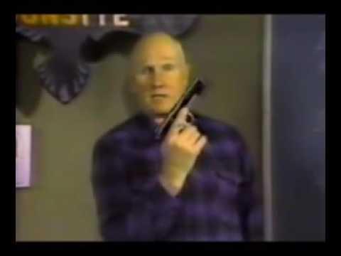 Col. Jeff Cooper(Gunsite Founder) Handgun Fundamentals