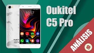 Oukitel C5 Pro Review en español (MT6737 smartphone Android 6.0)
