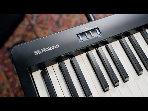 Roland FP-10 Digital Piano | Overview & Demo - YouTube