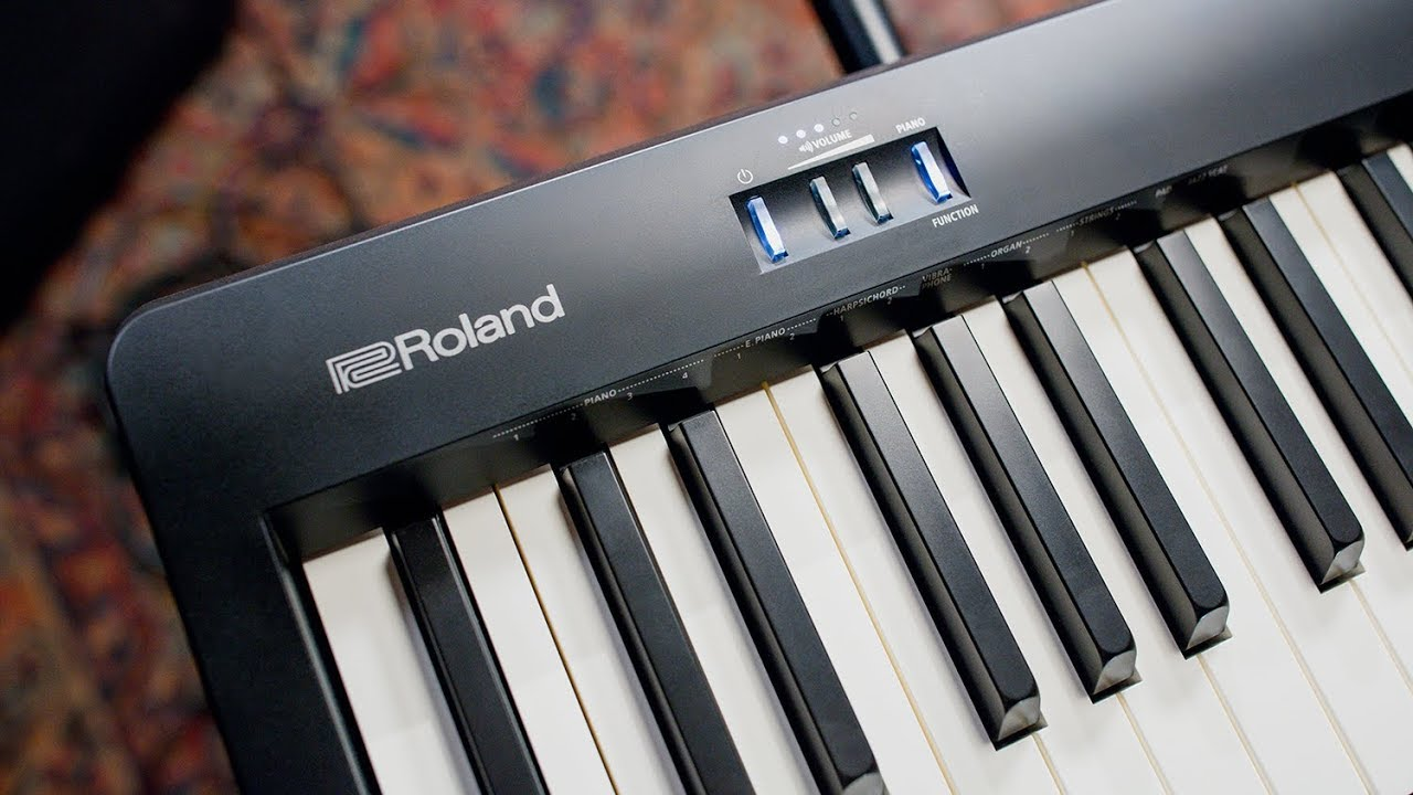 Roland Fp 10 Digital Piano Overview Demo Youtube