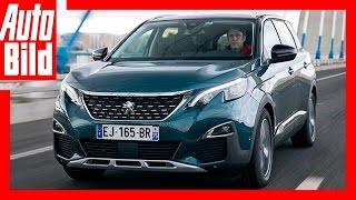 Peugeot 5008 (2017) - Erste Fahrt im großen Franzosen-SUV / Review / Test
