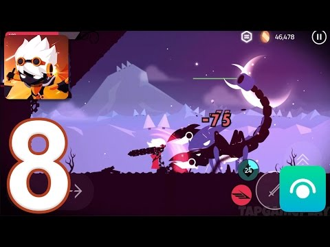 Star Knight - Gameplay Walkthrough Part 8 - 4.Snow Desert: Stages 6-12, Boss (iOS, Android)