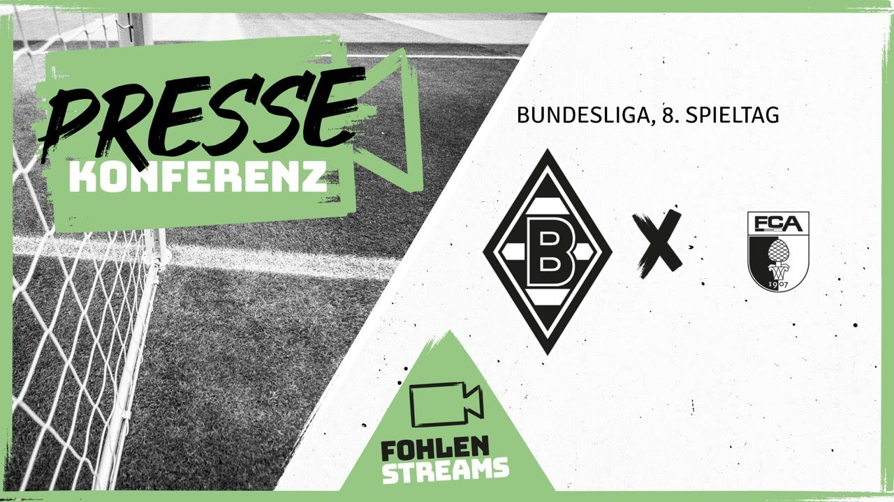 PK vor dem Spiel: Borussia - FC Augsburg