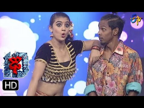 Aqsa Khan Performance | Dhee 10 |  22nd November 2017| ETV Telugu